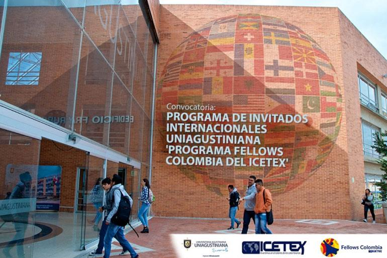 Convocatoria: Programa de Invitados Internacionales UNIAGUSTINIANA 'Fellows Colombia'