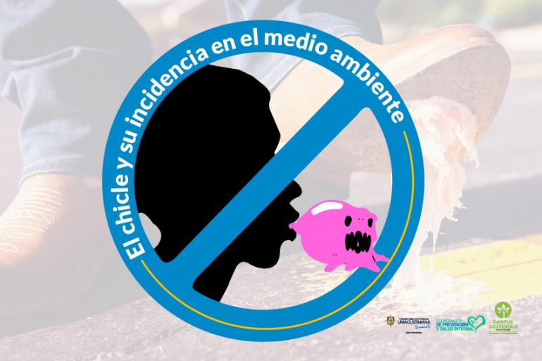 El chicle y su incidencia en el medio ambiente