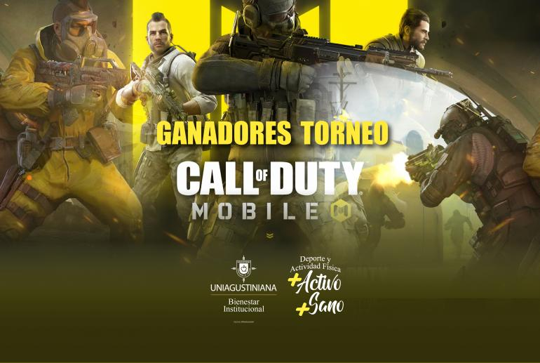 Ganadores del torneo 'Call of  Duty Mobile'