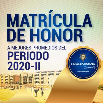 Matrícula de Honor  2020-2